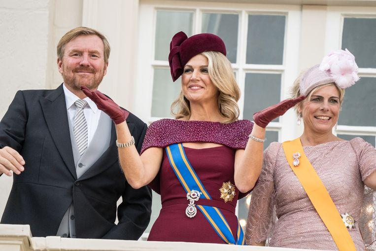 Koningin Máxima tijdens Prinsjesdag 2019 Beeld Hollandse Hoogte