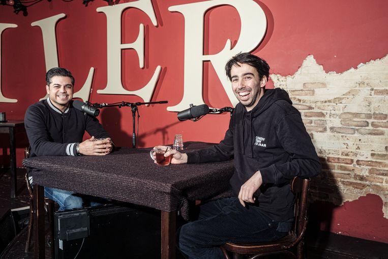 Rayen Panday (l) en Stefan Pop. Beeld Jakob van Vliet