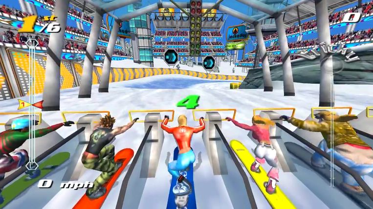 SSX Tricky Beeld EA