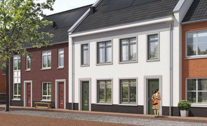 Nieuwbouw in KVL-Dorp.