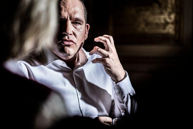 Philippe Close (PS), burgemeester van Stad Brussel. Beeld Franky Verdickt