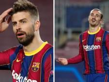 """""""La c... à ta mère"""": l'échange (très) tendu entre Piqué et Griezmann lors de Barça-PSG"""