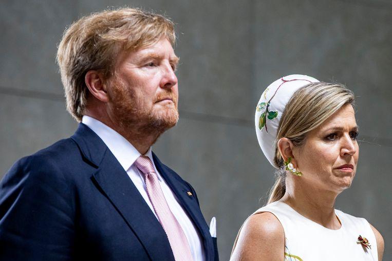 Koning Willem-Alexander en koningin Máxima in Berlijn Beeld Getty Images