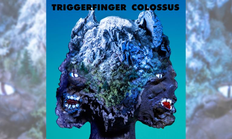 Albumhoes 'Colossus' van Triggerfinger Beeld Victor Robyn