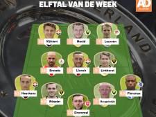 Koploper Willem II domineert Elftal van de Week