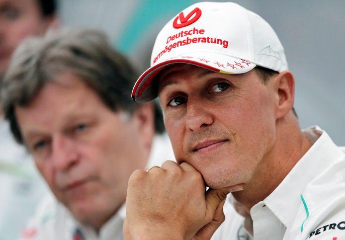 Schumacher op archiefbeeld uit 2012