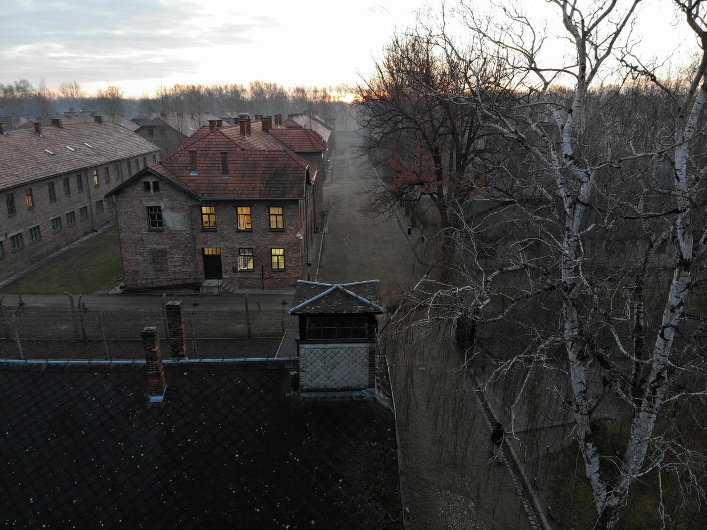 Auschwitz I, het oudste deel van het concentratiekamp.