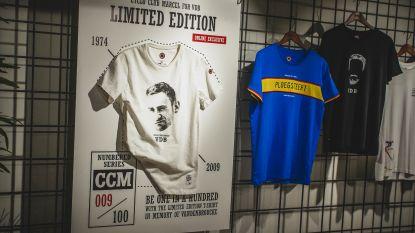 Cameron Vandenbroucke lanceert fietsend T-shirts als eerbetoon aan haar vader