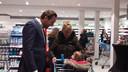 Roberto van Veldhuizen kreeg een hoop lof voor de vernieuwde winkels