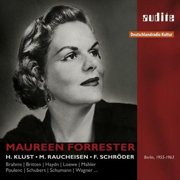Recensie: Maureen Forrester - Historische opnamen 1955-1963 van liederen van Mahler, Loewe, Wagner.