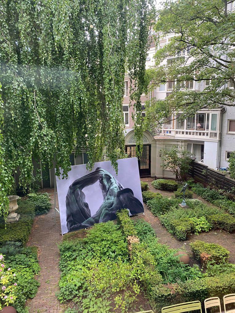 De tuin van Huis Marseille. Beeld Gijs Stork en Floor van Spaendonck