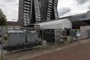 Eindhoven - De Albert Heijn aan het Cassandraplein werd helemaal leeggehaald voor een grote schoonmaak