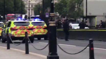 Grote politieactie in Londen nadat wagen inrijdt op omheining parlement: verschillende gewonden, bestuurder gearresteerd