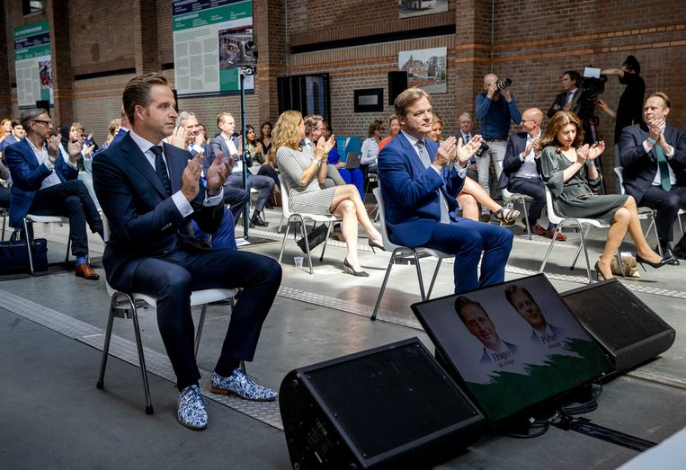 In juli won minister Hugo de Jonge de CDA-lijsttrekkersverkiezing van Kamerlid Pieter Omtzigt, maar de problemen bij die digitale stemming blijven de partij parten spelen. Beeld ANP
