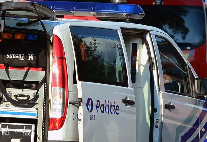 De politiezone BRT hield woensdag een controle.
