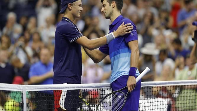 Djokovic verslaat Deense tiener in eerste ronde US Open