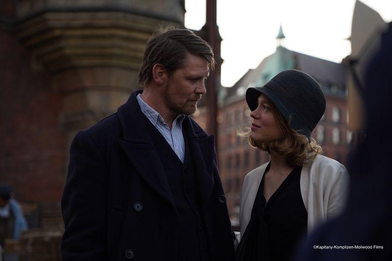 Gijs Naber en Lea Seydoux in The Story of My Wife.  Beeld