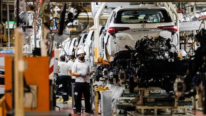 Toyota legt autofabriek twee weken stil door chiptekort