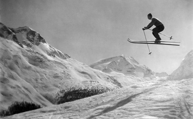 In verhouding is het aantal hoofdletsels zelfs toegenomen ten opzichte van het totale aantal ski-ongevallen. Beeld Ullstein Bild via Getty Images