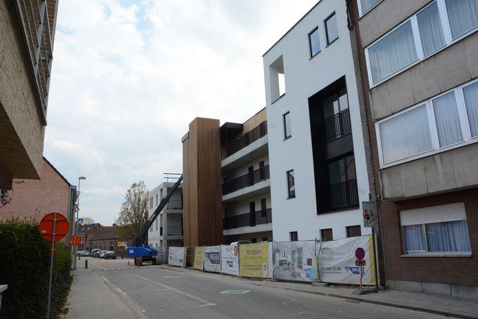 Residentie Hoppe is de grootste bouwblok tot nog toe met 38 flats.