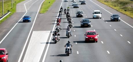Motortoertocht uit protest tegen 'discriminerend' afsluiten van dijkwegen