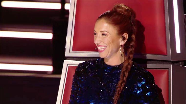 Natalia - jurylid in 'The Voice van Vlaanderen'