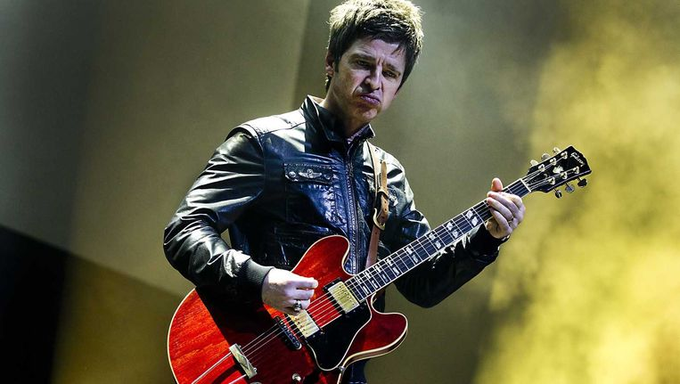 Noel Gallagher in Tivoli/Vredenburg. Beeld null