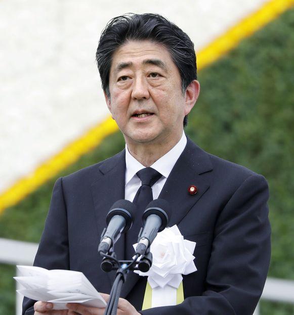 De Japanse premier Shinzo Abe.