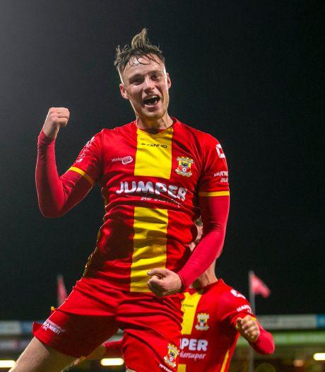 Wat Jong PSV ook probeert, Sam Beukema scoort weer voor GA Eagles