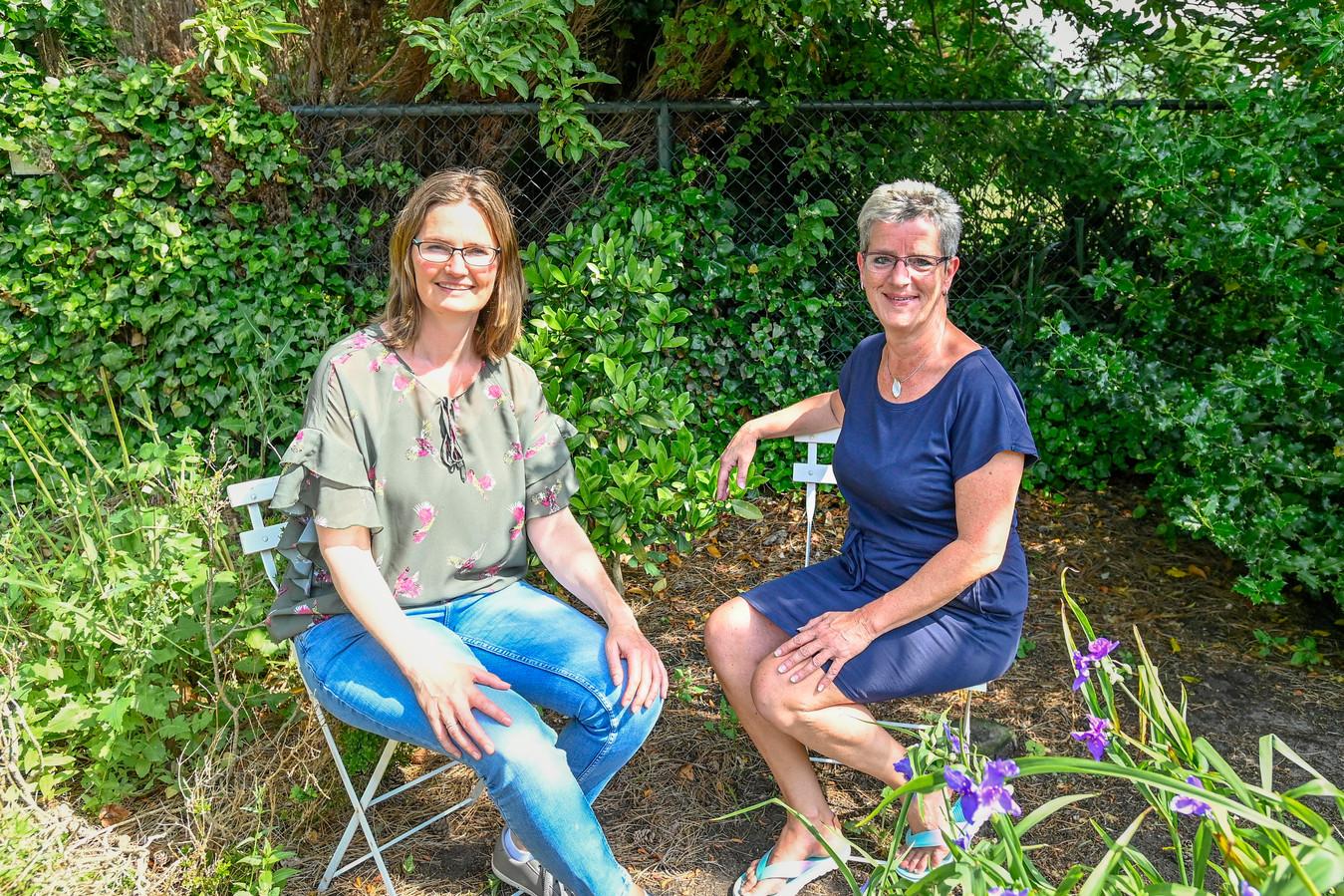 Raadslid Heidi Vos en burgerraadslid Marion Brans zetten D66 in de wacht en blijven politiek bedrijven via de lokale partij RVP.