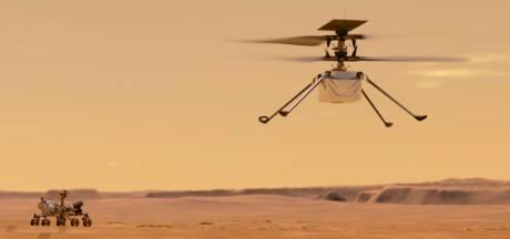La première tentative de vol d'un hélicoptère sur Mars aura lieu début avril