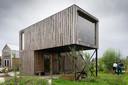 'TinySteck' is een huis met twee haaks op elkaar gestapelde rechthoeken.
