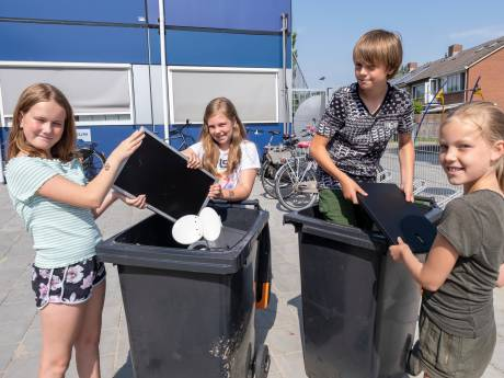 Afvalrace: welke school zamelt de meeste elektrische apparaten in?