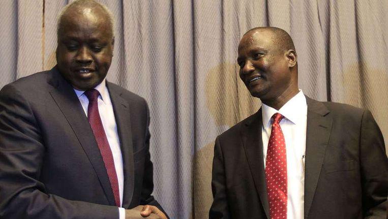 In Ethiopië wordt ondertussen nog steeds onderhandeld over de situatie in Soedan. Beeld afp