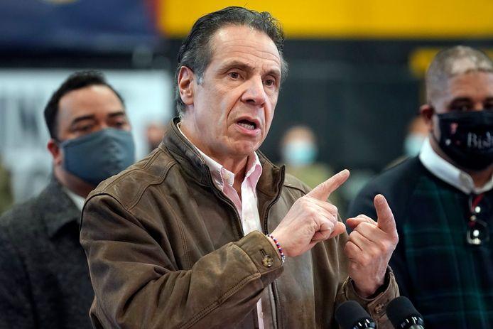 Le gouverneur de New York, Andrew Cuomo, dans la tourmente.