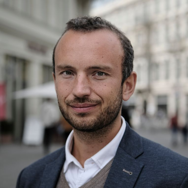 Paul Marquadt stemt SPD. Beeld Daniel Rosenthal