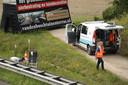 Ongeval op de A50 bij Herpen.