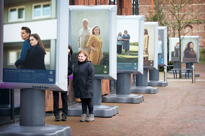 Expositie over huiselijk geweld in Oosterhout. Foto: Pix4Profs/Joyce van Belkom