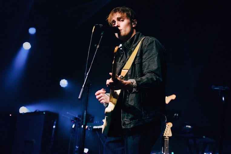 Brits singer-songwriter Sam Fender (BBC's Sound of 2018) tijdens Les Nuits Botanique 2019 - Brussel, op 28 april 2019. Beeld Damon De Backer