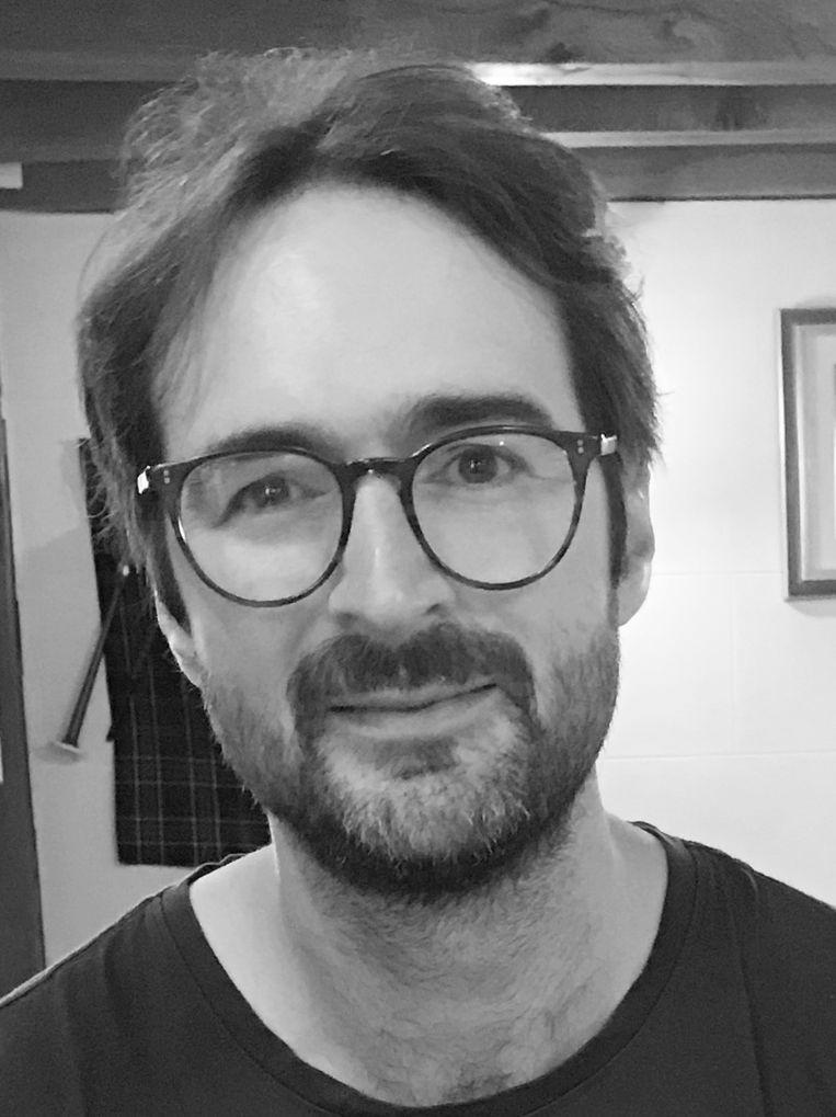 Krispijn Faddegon is onderzoeker en docent aan de HvA. Projectleider van het gedragspsychologisch onderzoek naar fast fashion bij jongeren in Almere. Beeld Het Parool