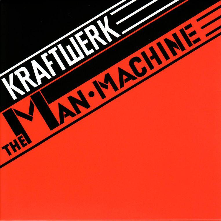 De hoes van de reissue van 'The Man Machine' uit 2009. Beeld RV