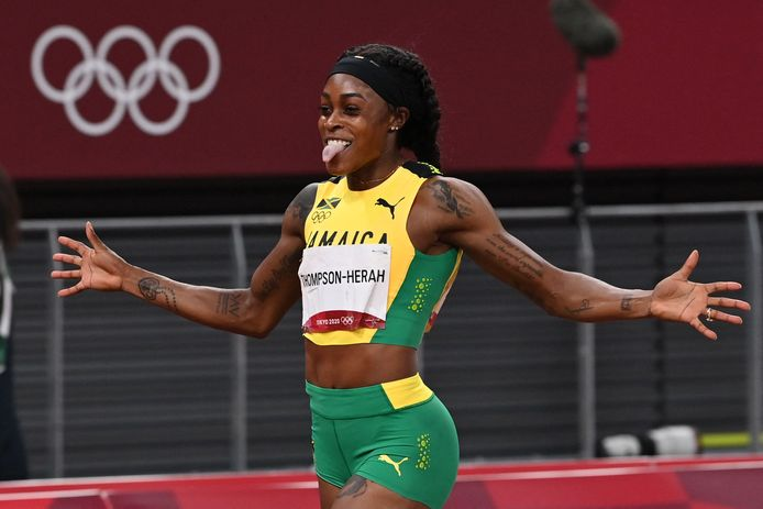 De Jamaicaanse sprintsensatie Elaine Thompson-Herah (29) heeft opnieuw goud te pakken.