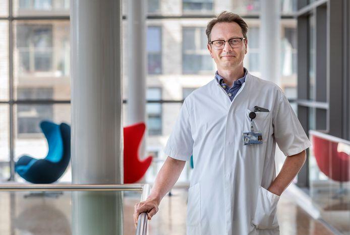 Cardioloog Ivo van der Bilt.