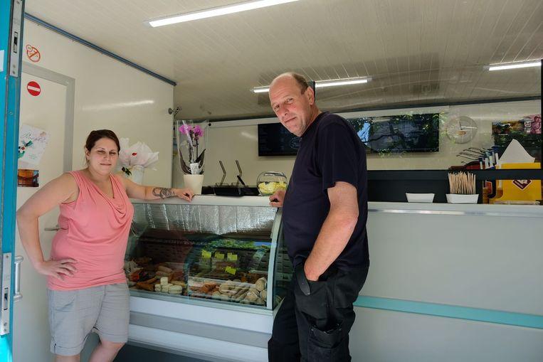 Valerie en Alain Boeykens - frituur 't Pleintje - Beigem