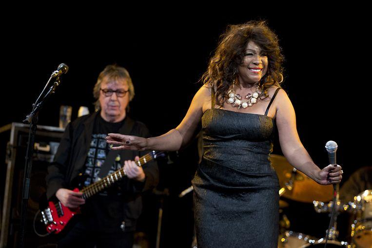 Wilson kreeg grote bekendheid door de Amerikaanse meidengroep The Supremes, waar ze als enige van begin tot het eind lid van was. Beeld ANP Kippa