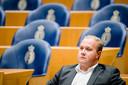 Thierry Aartsen (VVD) tijdens een debat in de Tweede Kamer.