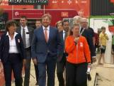 Koning Willem-Alexander opent Olympic Festival Scheveningen