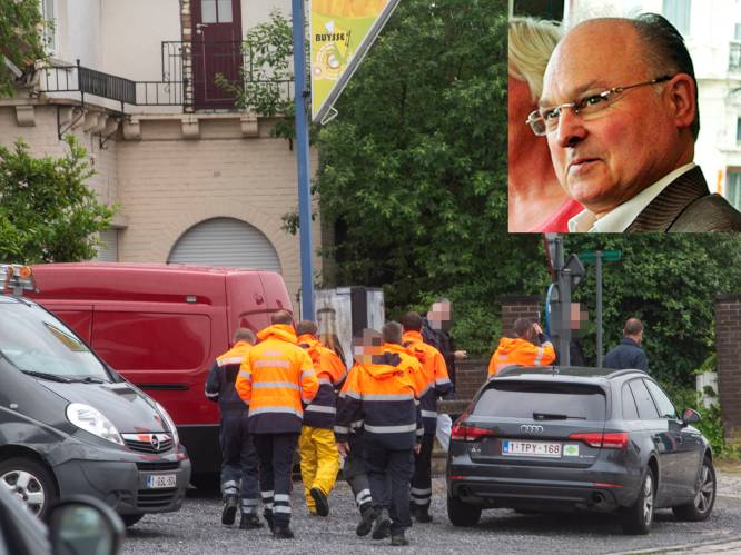 Cel vermiste personen graaft in tuin vermiste Jean Vercarre (68)