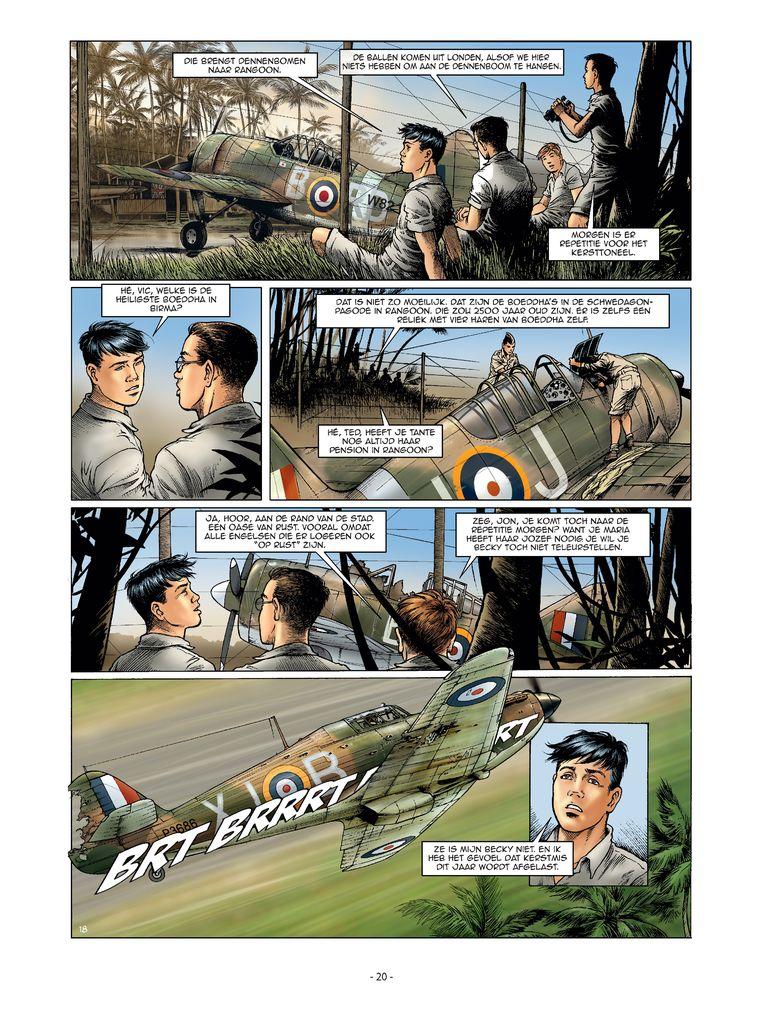 'Little England': strips als deze worden zelden door Vlamingen gemaakt. Beeld rv