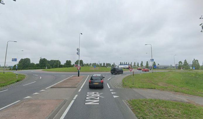 Bij de rotonde Nishoek komt een bypass voor verkeer richting snelweg A58.